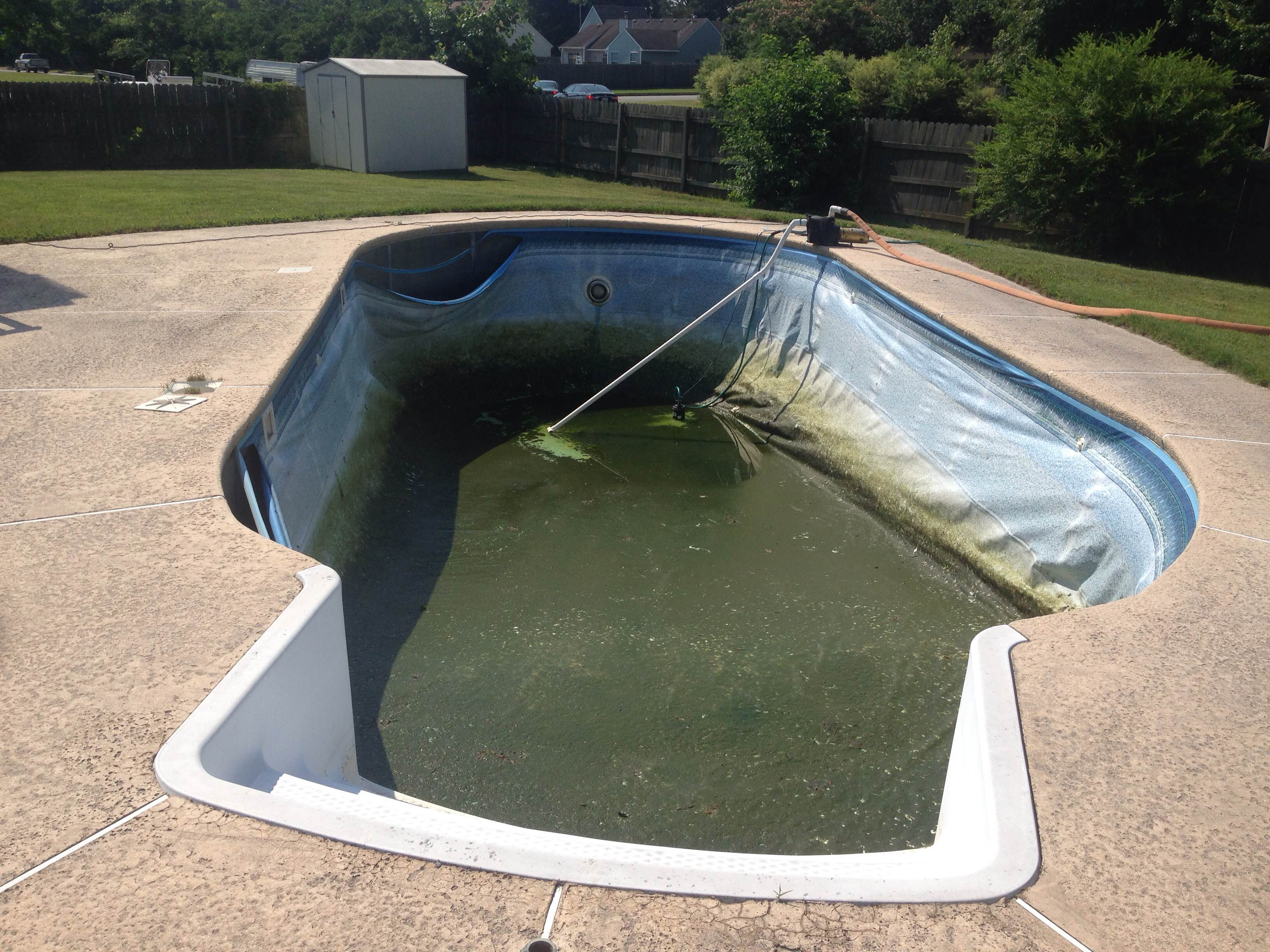 Bw Pools Pool Liner Replacement Virginia Beach