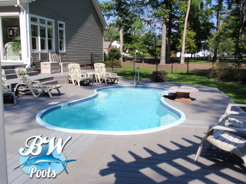 Backyard inground pools outdoor goods for Pool design virginia